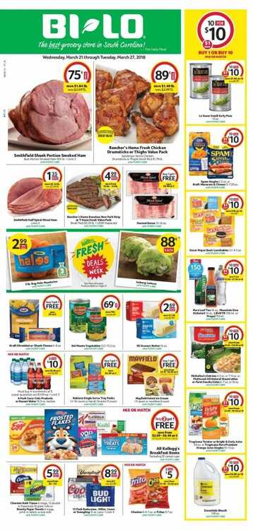 bi-lo weekly ad greenville sc 3/21 to 3/27 2018