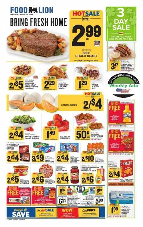 price chopper weekly flyer putnam ct March 11 to 17 2018