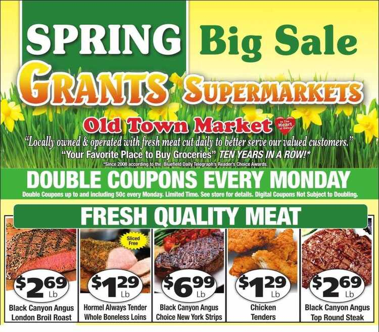 grants weekly ad 4/11
