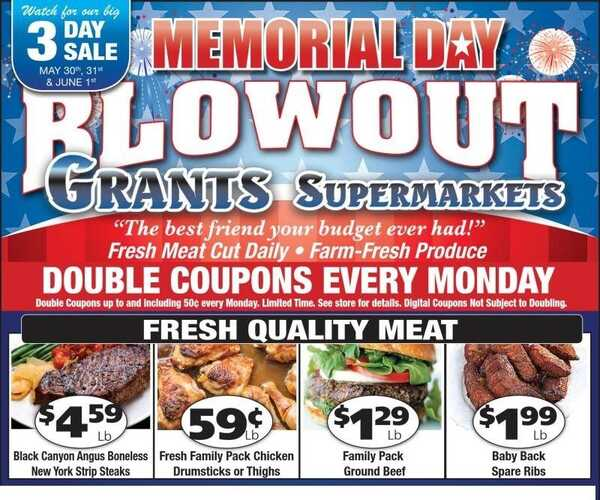 grants supermarket weekly ad