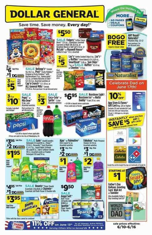 dollar general weekly ad preview