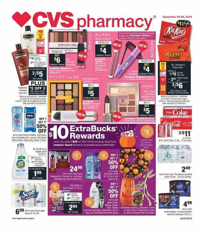 cvs weekly ad this week 9/24