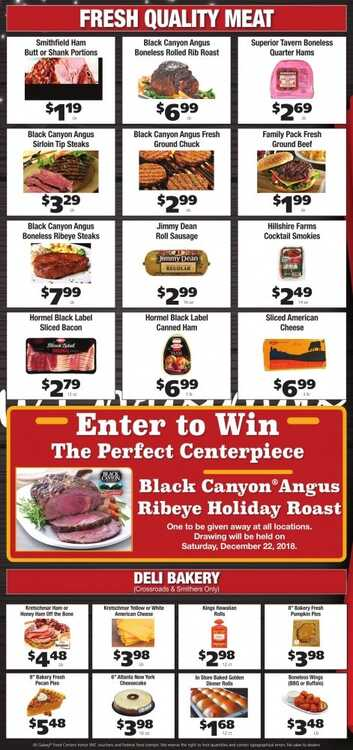 grant's weekly ad 12/17 to 12/24 2018 Merry Christmas