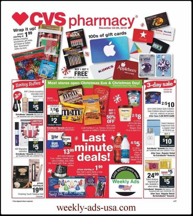 cvs weekly ad 12/24