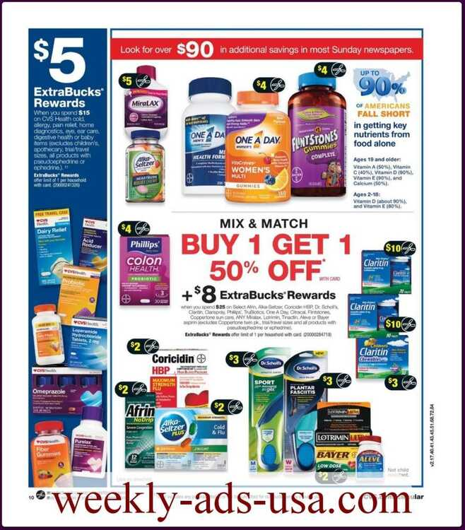 cvs weekly ad January 9